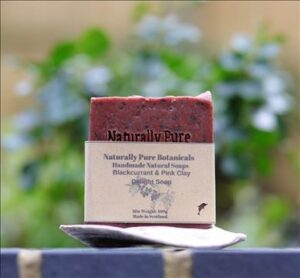 Blackcurrant & Pink Clay delight vegan soap-Photo- Kate Taylor